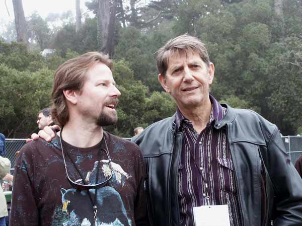 Mark and Peter Coyote